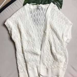 Liz Claiborne sleeveless Knit Cardigan